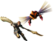 MH4-Insect Glaive Equipment Render 001