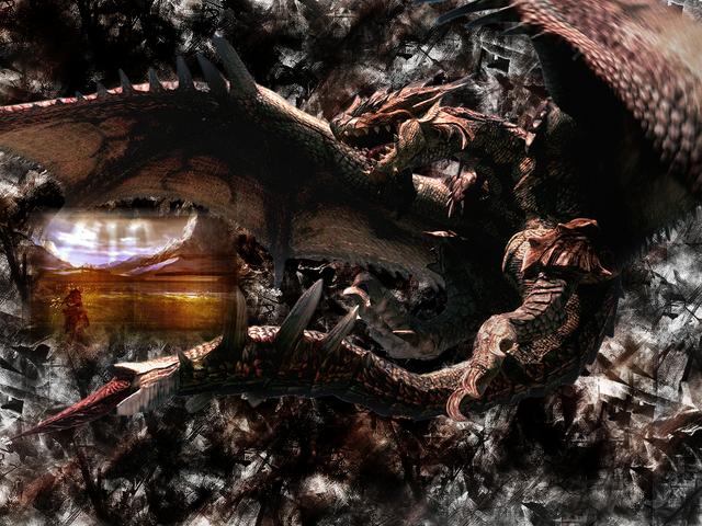 File:Monster Hunter Wallpaper by Celphi0.png