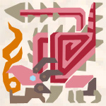 File:MH3G-Pink Rathian Icon.png