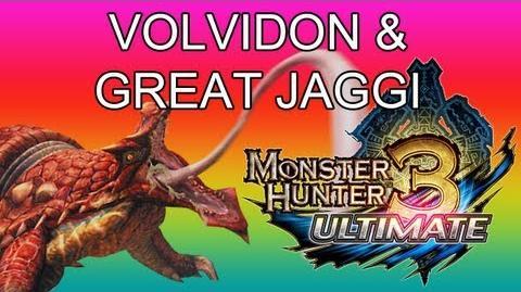 Monster Hunter 3 Ultimate - G1★ Volvidon & Great Jaggi guide ラングロトラ-1