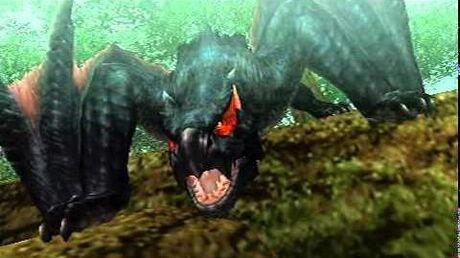 Monster Hunter Freedom Unite - On Swift Wings (Nargacuga intro)