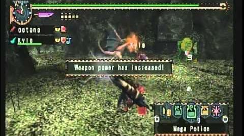 Monster Hunter Freedom Unite - G2★ Online Quest At Birds' Hill..