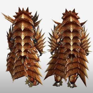 FrontierGen-Lavi Armor (Blademaster) (Back) Render