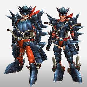 FrontierGen-Guren G Armor (Gunner) (Front) Render