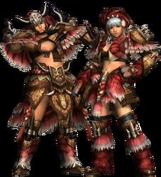 FrontierGen-Gogo Armor (Blademaster) Render 2