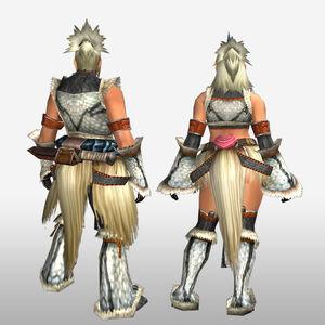 FrontierGen-Burittsu Armor (Both) (Back) Render