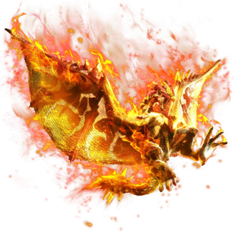 File:MHXR-Flame Rathalos Render 001.png