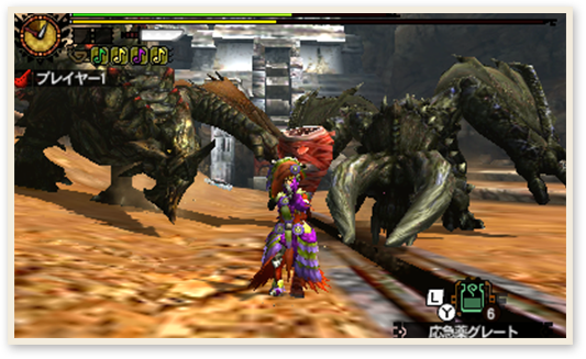 File:MH4U-Black Diablos and Black Gravios Screenshot 001.png