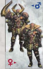 MH3U duramboros Armor (Blade)