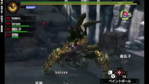 MH4G - G★2 - ゲネル・セルタス亜種 Seltas Queen Subspecies 10 17 2014