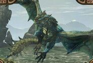 MHO-Azure Rathalos Artwork 001