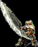 MHGen-Great Sword Equipment Render 002