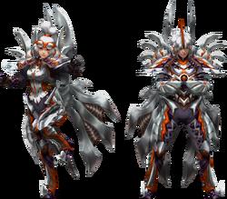 FrontierGen-Harudo Armor (Blademaster) Render 2