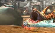 MH4U-Zamtrios and Tigerstripe Zamtrios Screenshot 001