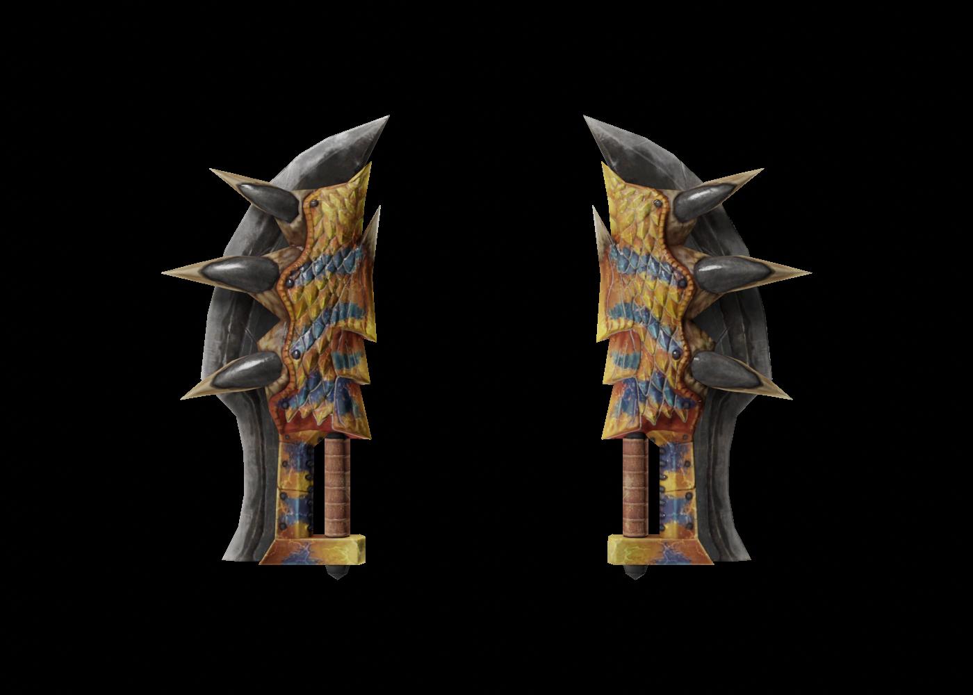 File:MHO-Dual Blades Render 002.png
