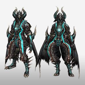 FrontierGen-Dragon G Armor (Gunner) (Front) Render