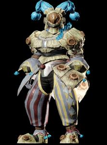 MHO-Ice Chramine Armor (Gunner) (Male) Render 001