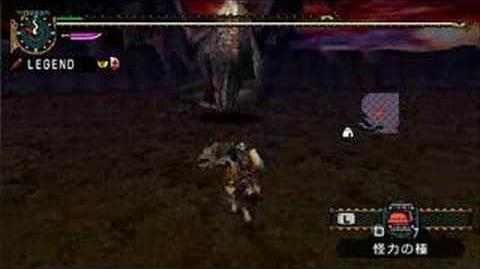 MHP2G Great Sword vs Black Fatalis