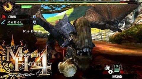 Monster Hunter 4 Nubcakes 06 - Gypceros English commentary online gameplay