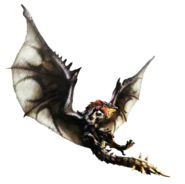 MH4-Silver Rathalos Render 002