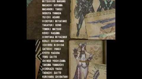 Monster Hunter 3 (Tri) G - Staff Credits