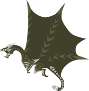 MH4U-Kushala Daora Meownster Hunter Render 001