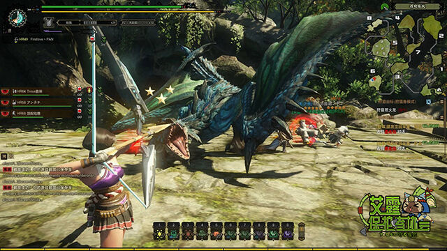 File:MHO-Azure Rathalos Screenshot 009.jpg