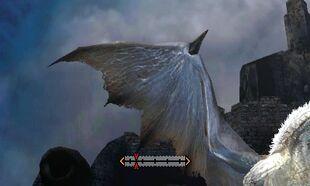 MH4U-White Fatalis Wings Break 001