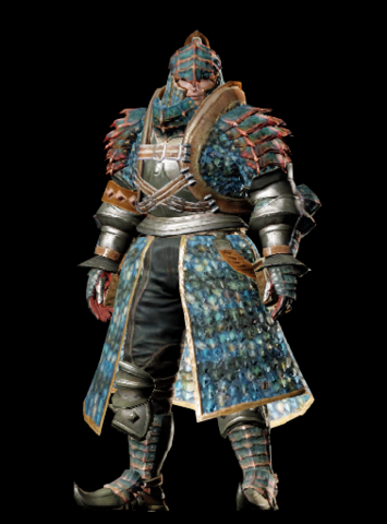File:MHO-Velocidrome Armor (Blademaster) (Male) Render 001.png