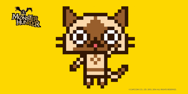 File:SMM-Monster Hunter Felyne Collaboration 001.png