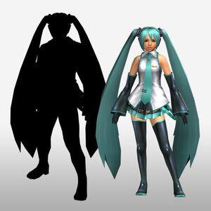 FrontierGen-Miku Armor (Both) (Front) Render