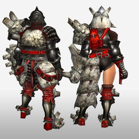 File:FrontierGen-Gurabido G Armor (Gunner) (Back) Render.jpg