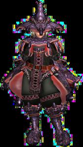 FrontierGen-Mizuha G Armor (Blademaster) (Female) Render 001