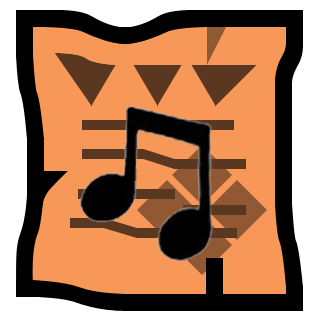 File:Music note orange.png