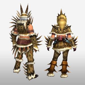 FrontierGen-Hejji G Armor (Blademaster) (Back) Render