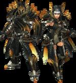 FrontierGen-Ruko Armor (Blademaster) Render 2