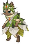 Felyne rathian armour