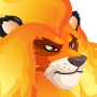 Fire Lion Icon 1