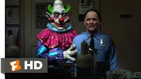 Killer Klowns from Outer Space (6 11) Movie CLIP - Human Puppet (1988) HD