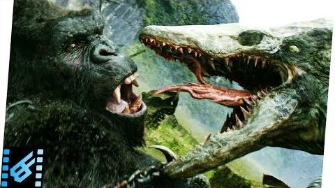 Kong vs Skull Crawler Kong Skull Island (2017) Movie Clip