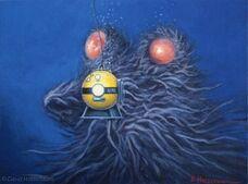 Deadly creature below diving bell-500x371