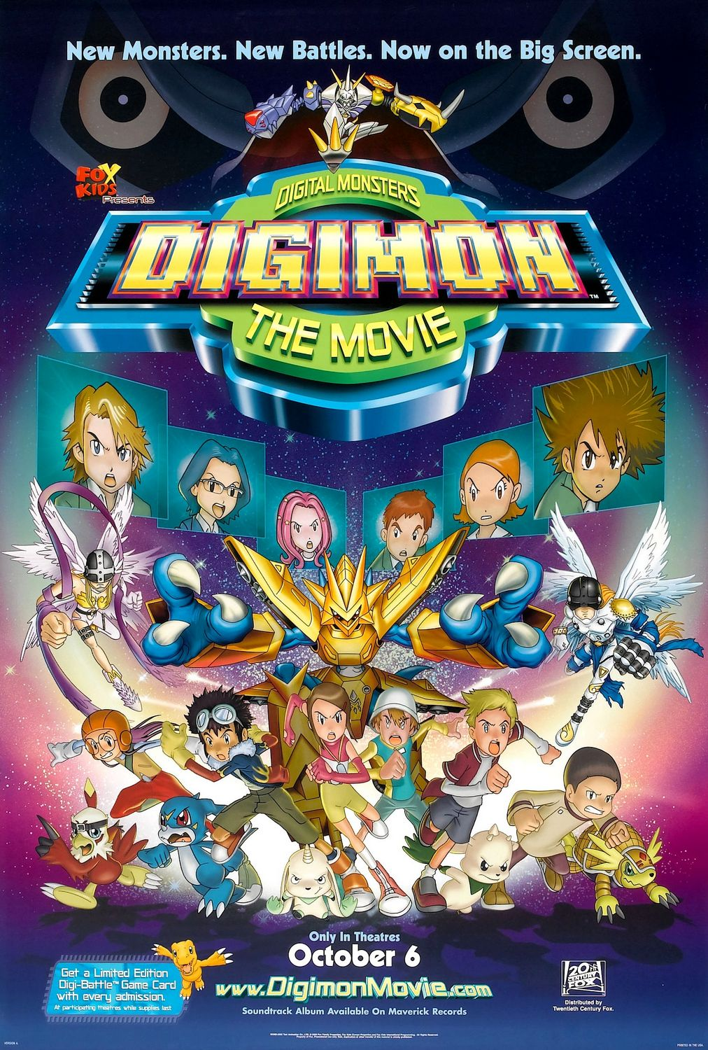 Digimon: The Movie | Monster Moviepedia | Fandom powered by Wikia