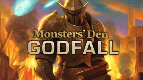 File:Monsters Den Godfall logo.png