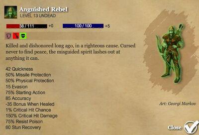 Anguished rebel