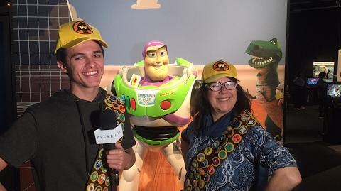 A Scavenger Hunt with Brent Rivera at The Science Behind Pixar Exhibit Pixar LIVE