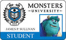 Sulley's ID card