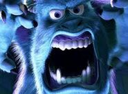 Sulley scaring