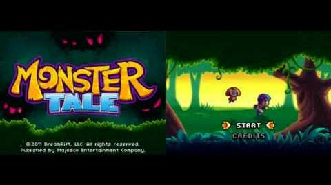 Monster Tale title screen music