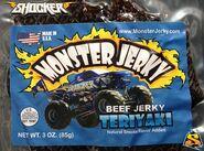 Monster Jerky Beef Jerky Teriyaki-3oz m