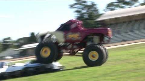 Extreme Monster Trucks Australia - Taz